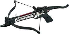 14 Badger Pistol Crossbow 80# W/3 Bolts