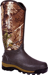 Core Rubber Boot Green/realtree Xtra Camo Size 10