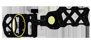 Fletch Z 5 Pin .019 Sight Black