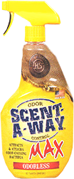 Hs Scent A Way Max Odorless Spray 32oz