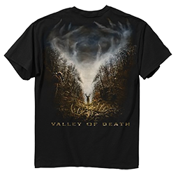Valley Of Death Short Sleeve Tshirt Black Xlarge