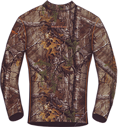 Thermal Baselayer Midweight Top Realtree Xtra Camo Xlarge