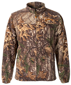 Vortex Windproof Fleece Jacket Realtree Xtra Camo Xlarge