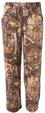 Vortex Windproof Fleece Pant Realtree Xtra Camo Large