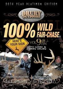 09 Drury 100% Wild Fair Chase 9 Dvd