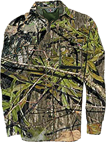 10x Ultra-lite Long Sleeve Shirt Mossy Oak Obsession L