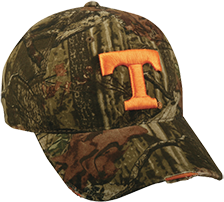 Tennessee Logo Distressed Hat Mossy Oak Infinity