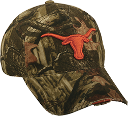 Texas Logo Distressed Hat Mossy Oak Infinity