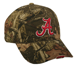 Alabama Logo Distressed Hat Mossy Oak Infinity