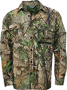 10x Ultra-lite Long Sleeve Shirt Realtree Xtra Green 2x