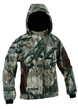 Lady Tempest Pro Fleece Jacket Mossy Oak Treestand Large