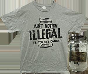 Plastic Jar W/moonshiners S/s Shirt Xxlarge