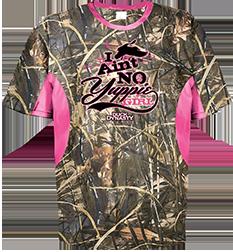 Ladies Yuppie Girl S/s Shirt Realtree Max-5 W/pink Xlarge
