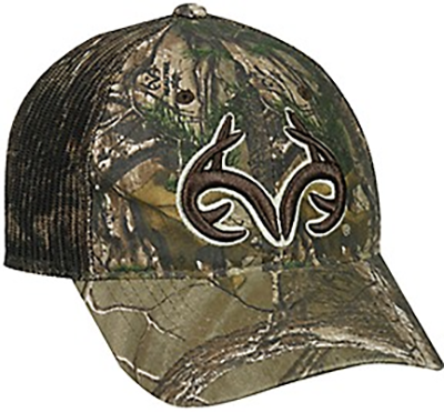 0cccc4eb Realtree Edge Mesh Back Hat W/antlers Logo (discontinued - non-returnable)