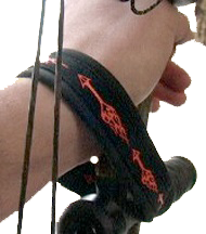 Outdoor Wrist Wrap Flame Arrow