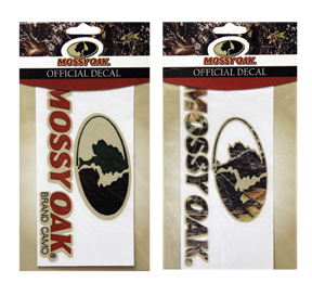Mossy Oak Flat Vinyl Decal 6""