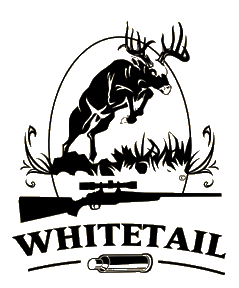 Whitetail & Gun Decal 6x5