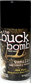 * Buck Bomb Curiosity Scent 5oz