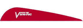 "Vanetec V Maxx 3"" Red Vanes"