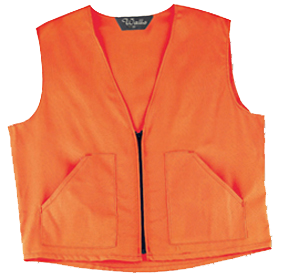Walls Safety Vest Blaze Orange M