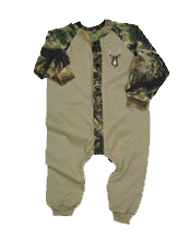 Union Suit Khaki Camo Sleeves Breakup 9 Months