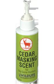 Wildlife Cedar Masking Scent