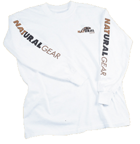 Long Sleeve Logo Tshirt White Xlarge