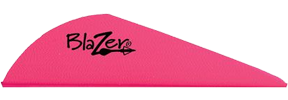 "Blazer Vanes 2"" Hot Pink"