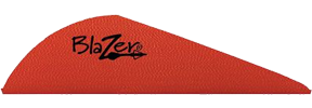 "Blazer Vanes 2"" Red"