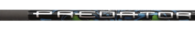 Predator Ii 60/75 Raw Shafts