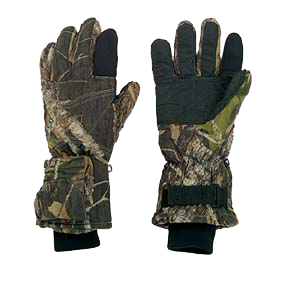 Battery Heated Gloves Mossy Oak Breakup Large