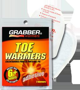 Grabber Toe Heater W/adhesive