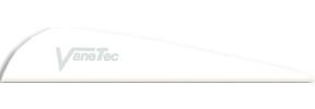 """Vanetec V Maxx 4"""" White Vanes"""