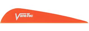 """Vanetec V Maxx 4"""" Flo Orange Vanes"""