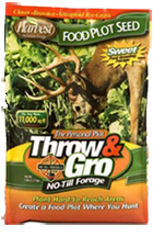 Throw & Gro W/broadcast Seeder
