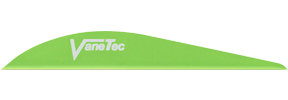 "Super Spine 3"" Flo Green Vanes"