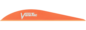 "Super Spine 3"" Flo Orange Vanes"