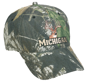 Deer Log Cap Michigan Mossy Oak Breakup