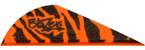 "Blazer Vanes 2"" Orange Tiger"