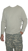 Thermal Crew Neck Long Sleeve Shirt Desert Sand 2xlarge