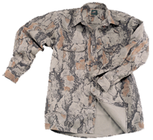 Natural Gear Bush Shirt Evergreen Xl