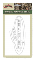Team Realtree White Official Decal