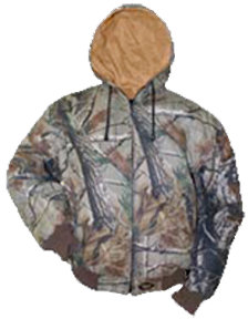 Reversible Hood Insulated Jacket All Purpose To Duck Xl