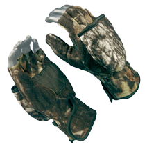 Bowhunter Convertible Glove Mossy Oak Treestand Large