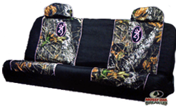 Browning Breakup Pink Bench Seat Cover
