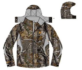 Performance Fit Jacket Realtree All Purpose Large