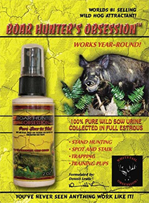 Whitetail Boar Hunters Obsession