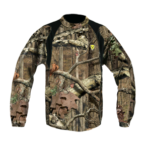 Camo Bamboo Long Sleeve Shirt Mossy Oak Infinity Medium