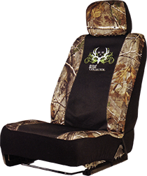 Bone Collector Low Back Seat Cover Realtree Ap/black