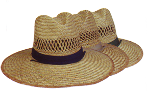 Sun Block Straw Hat Assorted Color Forest,khaki,navy Osfm